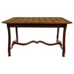 French Country Library Table