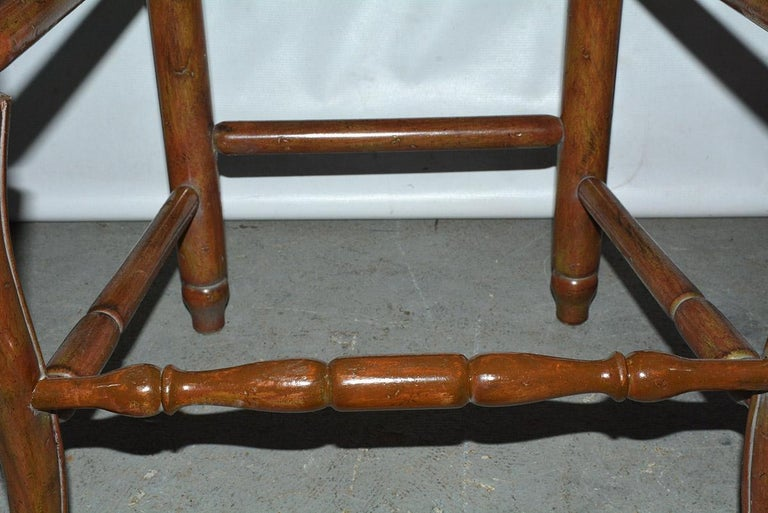 French Country Louis XV Style Counter/Bar Stools For Sale 1