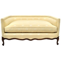 French Country Louis XV Style Settee Loveseat