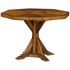 French Country Octagonal Center Table