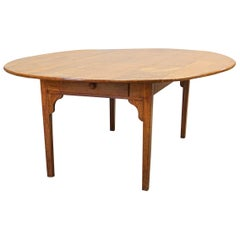 French Country Oval Farm Table, 19th Century