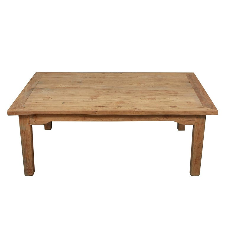 French Provincial Coffee Table For Sale: French Country Pine Table Into Coffee Table For Sale At