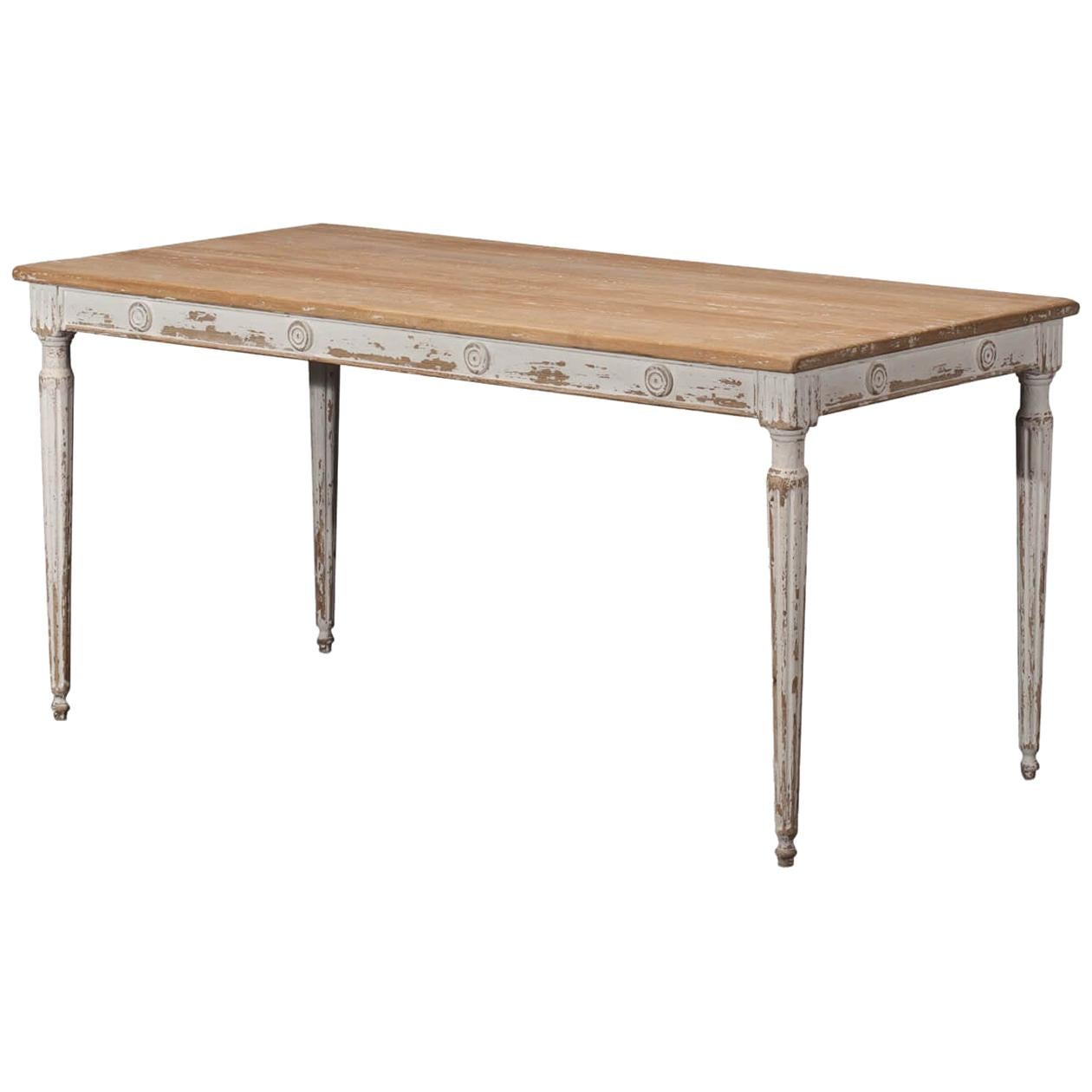 French Country Rustic Dining Table