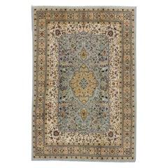 Vintage Perser Area Teppich im französisch-ländlichen Stil