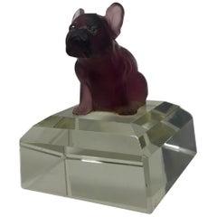 French Crystal Bulldog