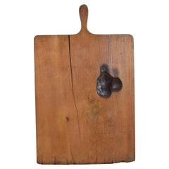 French Cutting Board in Pinewood, Early 20th Century