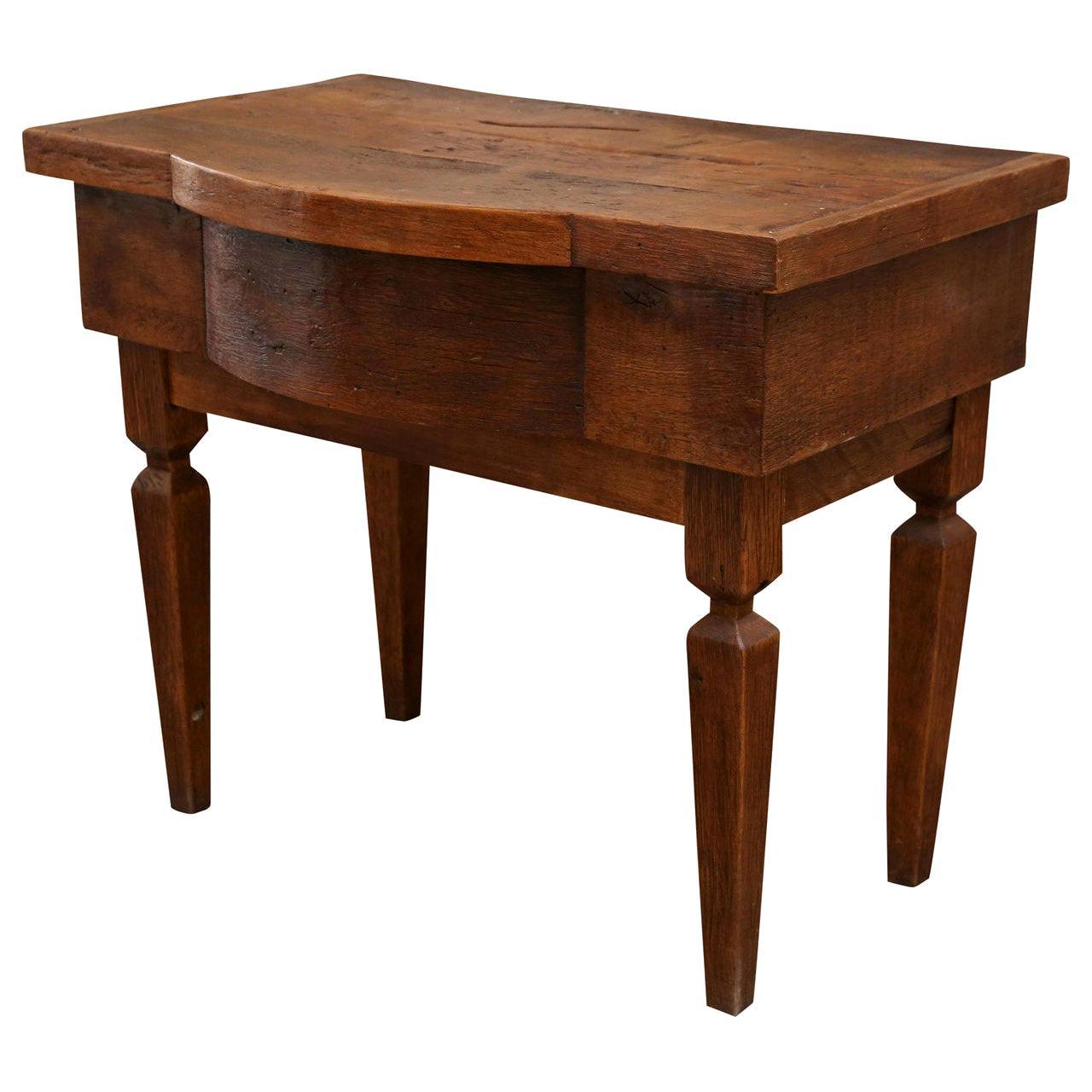 French Dark Walnut Vanity Table