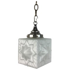 French Deco Star Nautical Pendant