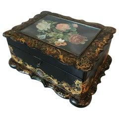 French Decorative Napoleon III Box