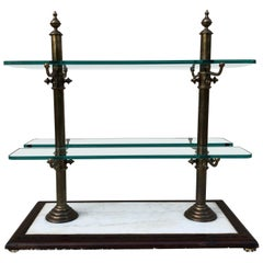 French Decorative Vintage Bistro Pastry Shelve/Stand