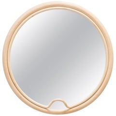 French Design Rattan Mirror