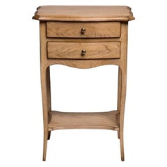 French Desmarais Louis XV Bedside Table, 20th Century