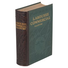 French Dictionary Book, Larousse Commercial Illustre, 1930