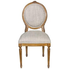 French Dior Dining Chair, 20th Century