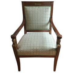 French Directoire Armchair