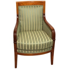 French Directoire Armchair, France, Early 19th Century