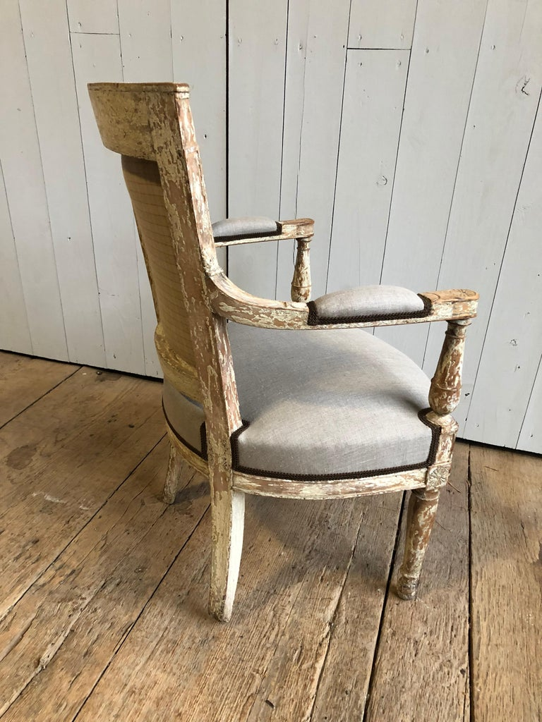French Directoire Period Armchair, circa 1800 For Sale 1