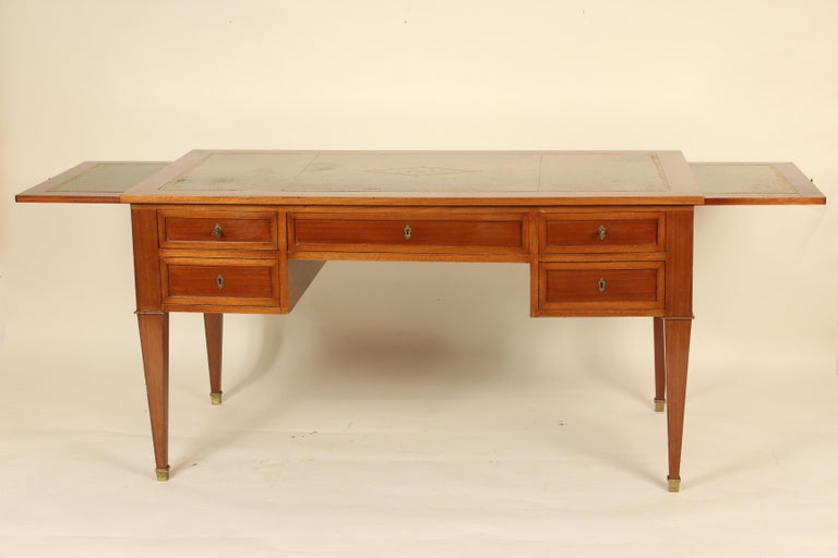 Early 20th Century French Directoire Style Mahogany Desk For Sale
