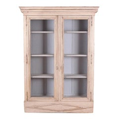 French Directoire-Style Painted Bookcase