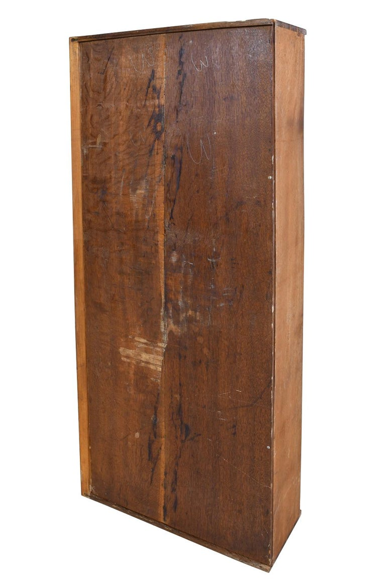 French Directoire West Indies Mahogany Chest of Drawers with Black Marble For Sale 13