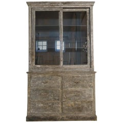 French Display Cabinet / Tallboy