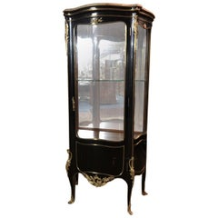 French Display Case Vitrine in the Louis XV Style