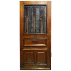 French Door with Letter Slot, circa 1850