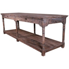 French Style Drapers Table
