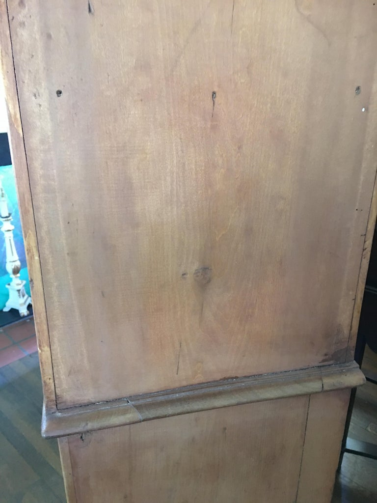 French Drapery Makers Campaign Cabinet, circa 1900s For Sale 4