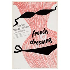 'French Dressing' Original Vintage Movie Poster, British, 1964