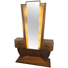 French Dressing Table Mirror or Hall Stand