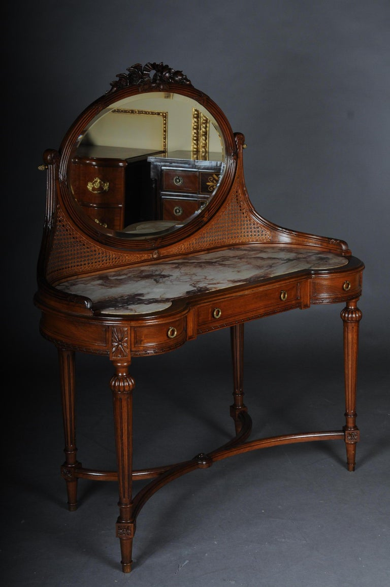 French Dressing Table Vanity Table With Mirror