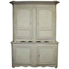 """French Early 18th Century Cabinet 'deux-corps"""""""