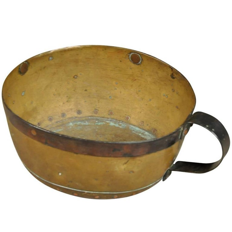 French Early 18th Century Copper Vessel