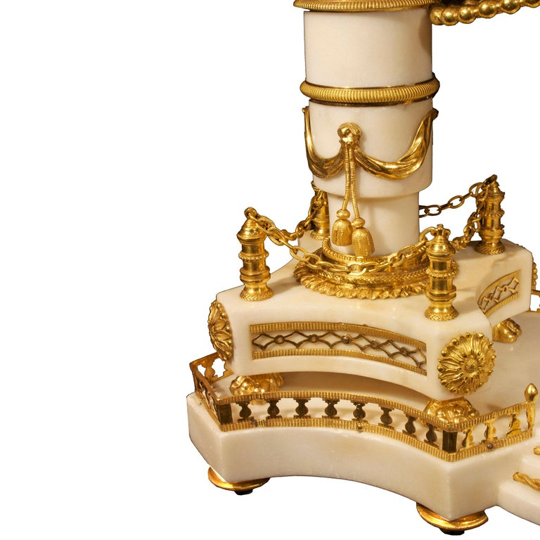 French early 19th century Louis XVI period  clock, signed Simona à Paris For Sale 8