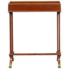 French Early 19th Century Louis XVI Style Mahogany Side Table