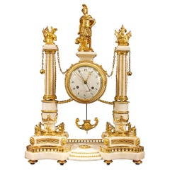 French Early 19th Century Louis XVI St. Signed Clock