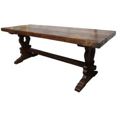 French Early 19th Century Monastery Table