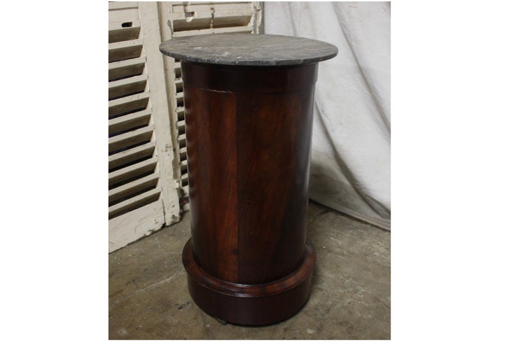 Mahogany French Early 19th Century Side Table For Sale
