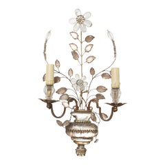 French Early 20th Century Baguès Wall Sconce