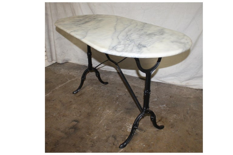 French Early 20th Century Bistro Table In Good Condition In Atlanta, GA