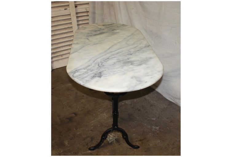 French Early 20th Century Bistro Table 1