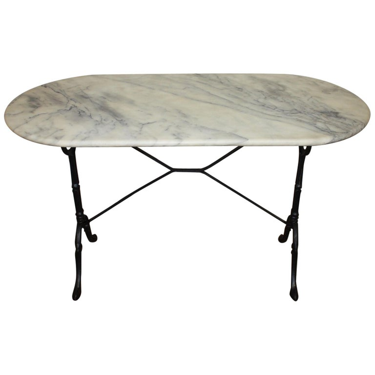 French Early 20th Century Bistro Table