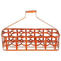French Early 20th Century Bottle Carrier