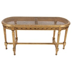 French Early 20th Century Giltwood Window Seat