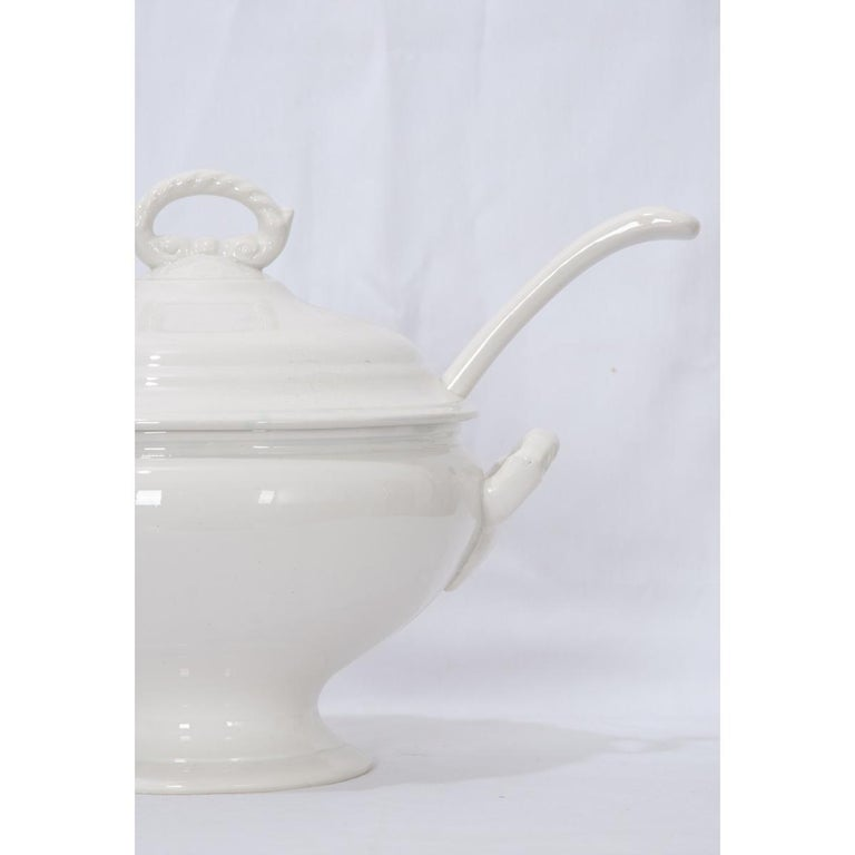 Other French Early 20th Century Ironstone Tureen For Sale