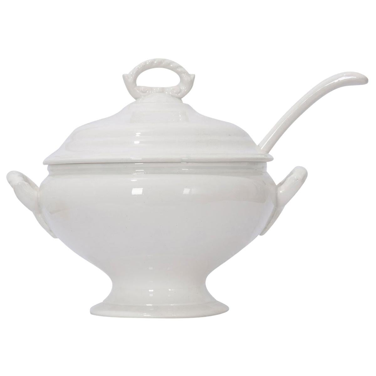 French Early 20th Century Ironstone Tureen