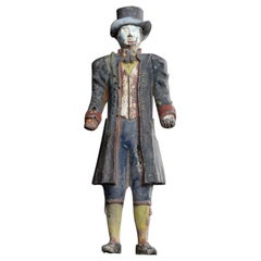 French Early 20th Century Lead Clockwork Figure