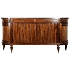 French Early 20th Century Louis XVI Style Mahogany Enfilade