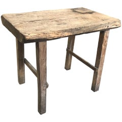 French Early 20th Century Small Work Table